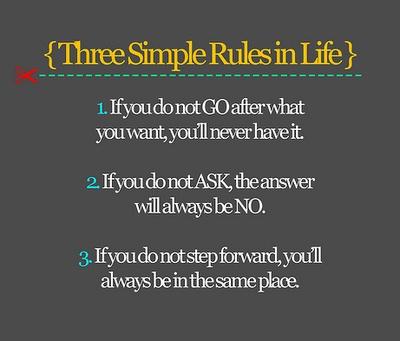 3 Rules...